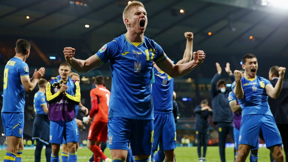 युक्रेन पहिलाे पटक युराेकपकाे क्वाटर फाइनलमा पुग्याे