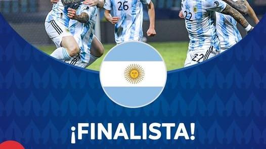 अर्जेन्टिना कोपा अमेरिकाको फाइनल प्रवेश
