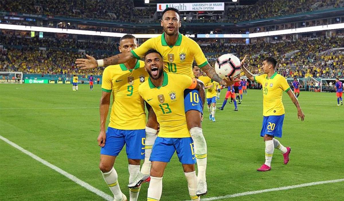 काेपा अमेरिका फुटबलमा ब्राजिलकाे शानदार सुरूवात
